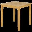 Table carrée Tivoli en Roble FSC 0.8 x 0.8 m