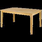 Table rectangulaireTivoli en Roble FSC 1 x 1.5 m