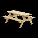 Table pique-nique en pin FSC 1,5 m