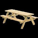 Table de pique-nique en Pin 1,82 m
