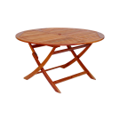 Table pliante ronde diamètre 1.4 m en Cornis