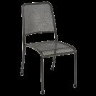 Chaise empilable Portofino en acier sans coussin