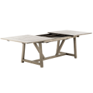 Table extensible George 100x 200-280 cm