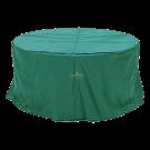 Housse pour table ronde diametre jusqu'à 130 cm de diamètre.