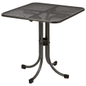 Table carrée Portofino bistro 0.7 x 0.7 m
