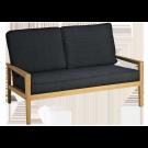 Canapé lounge en roble avec coussin