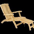 Chaise longue en Roble FSC