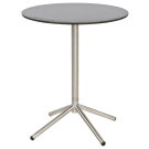 Gueridon/Table de café avec plateau rond en teck 90 cm ou HPL 60 cm
