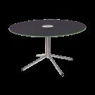 Table ronde avant inox diam 1.3 m