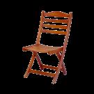Chaise pliante en Cornis