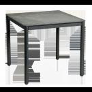 Table carrrée Portofino 80 x 80 cm