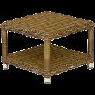 Petite table basse pour bain de soleil 40x40 cm