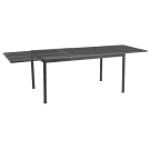 Table extensible en acier 150-270 cm