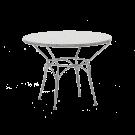 Table ronde URANUS diam 100 cm plateau granit gris
