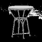 Table ronde URANUS diamètre 60cm plateau granit gris