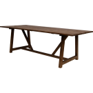 Table teck George 100 x 240 cm